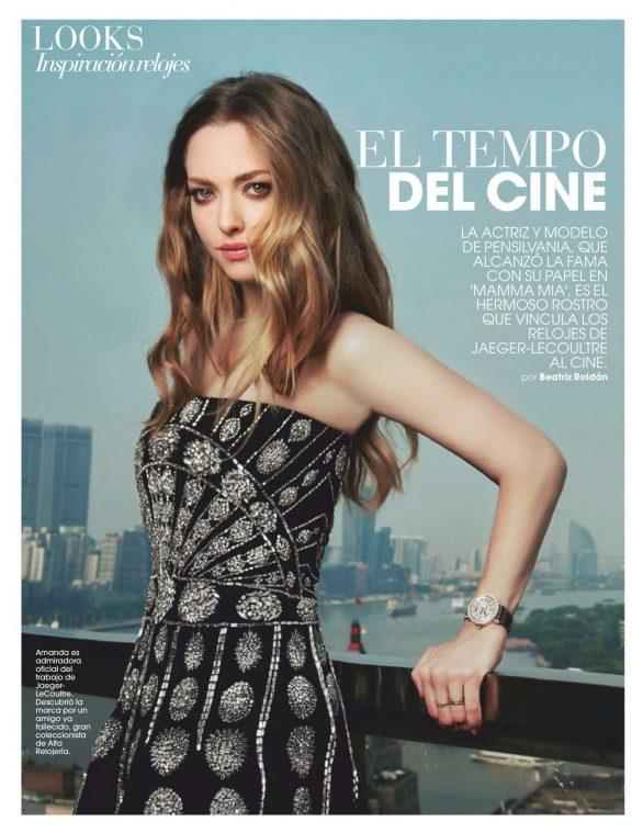 Amanda Seyfried - Marie Claire Espana Magazine (November 2019)