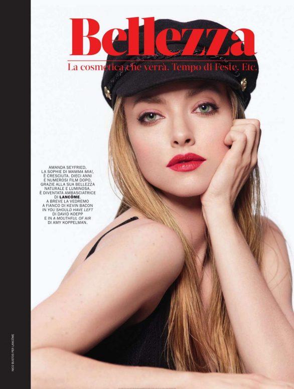 Amanda Seyfried - Marie Claire Italy Magazine (January 2020)