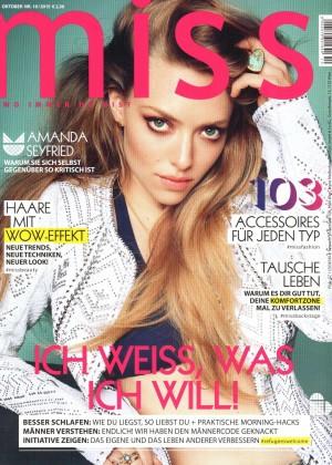 Amanda Seyfried - Miss Austria Magazine (October 2015)