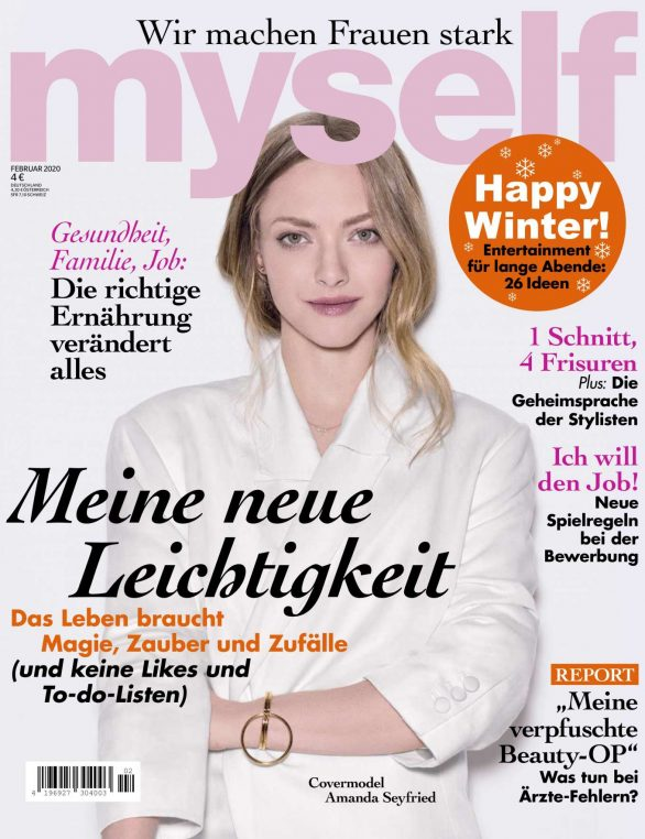 Amanda Seyfried - myself Magazine (January 2020)