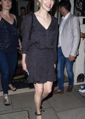 Amanda Seyfried - Night out in London