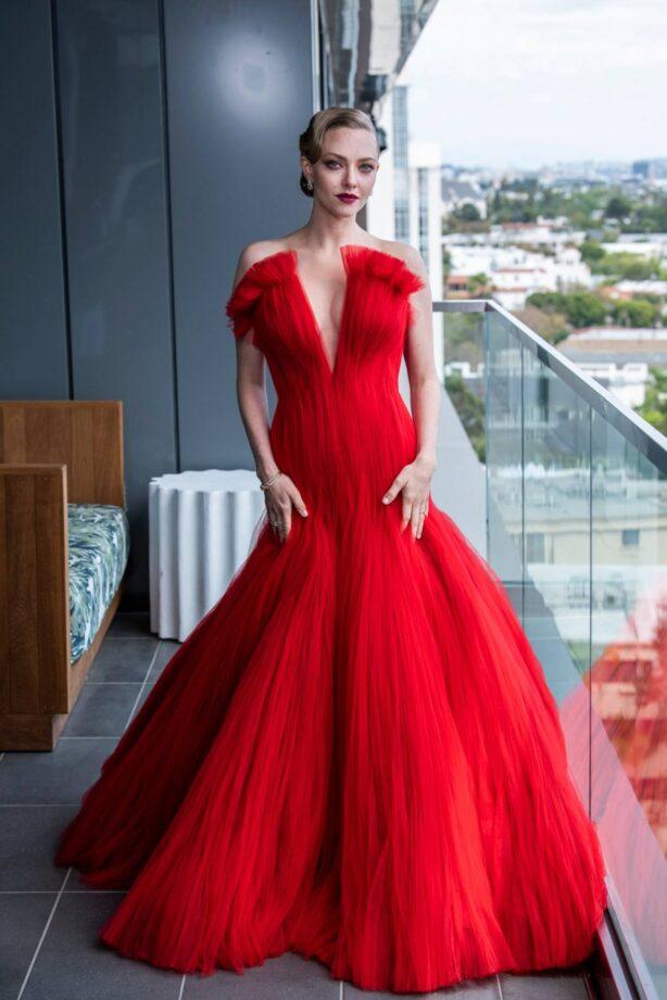 Amanda Seyfried - Oscar's 2021 preparation for Vogue 2021