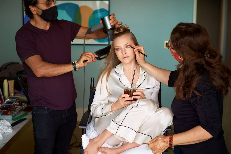 Amanda Seyfried 2021 : Amanda Seyfried – Oscars 2021 preparation for Vogue 2021-06