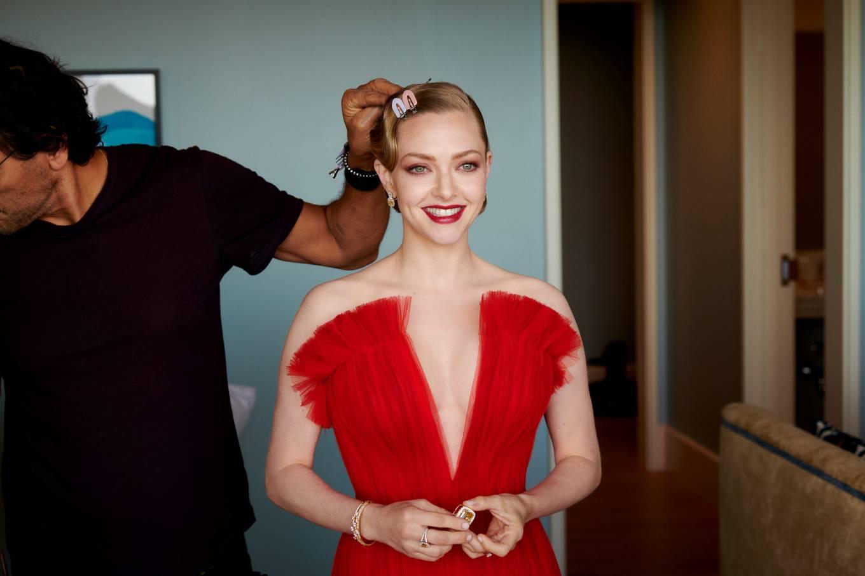 Amanda Seyfried 2021 : Amanda Seyfried – Oscars 2021 preparation for Vogue 2021-08