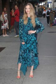 Amanda Seyfried - Ouside the 'Late Show with Stephen Colbert' in NYC