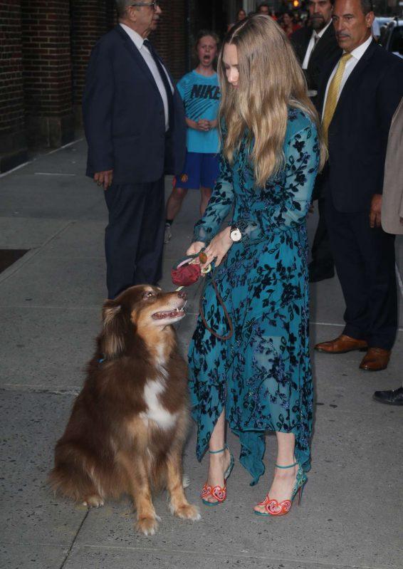 Amanda Seyfried 2019 : Amanda Seyfried – Ouside the Late Show with Stephen Colbert-09