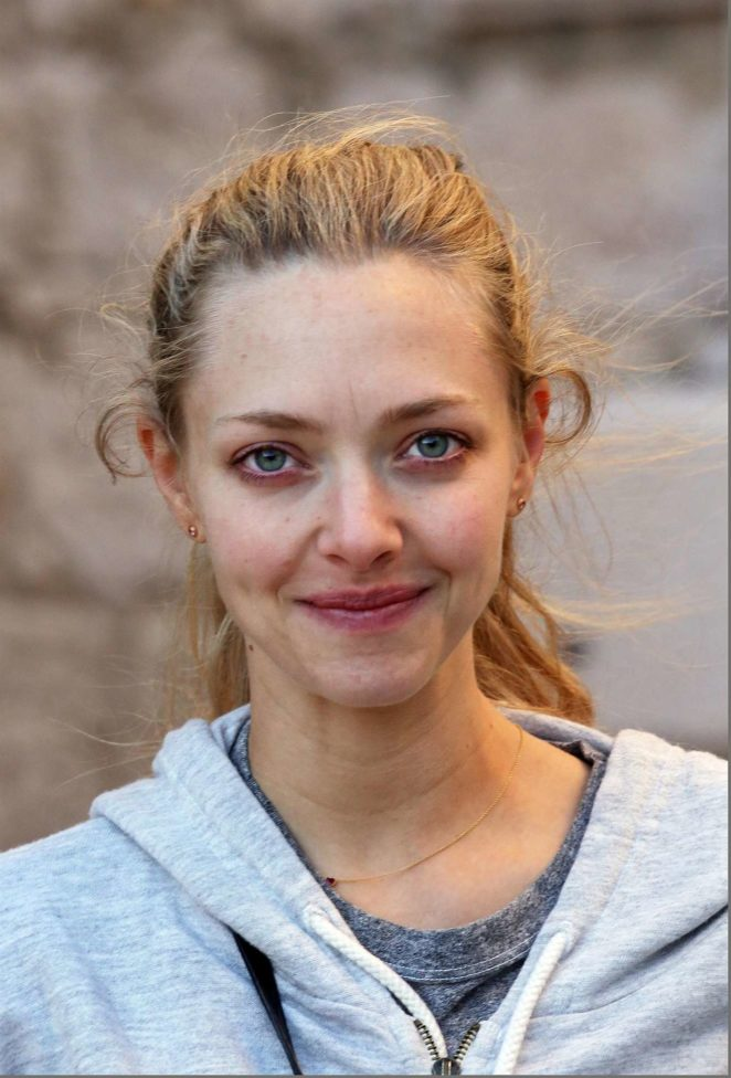 Amanda Seyfried - Out and about in Fort George in Croatia