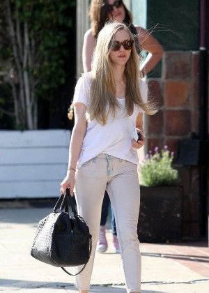 Amanda Seyfried - Out and about in West Hollywood