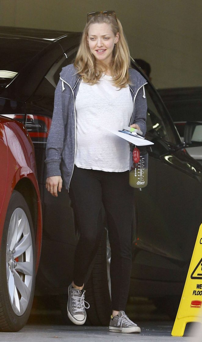 Amanda Seyfried out in Burbank