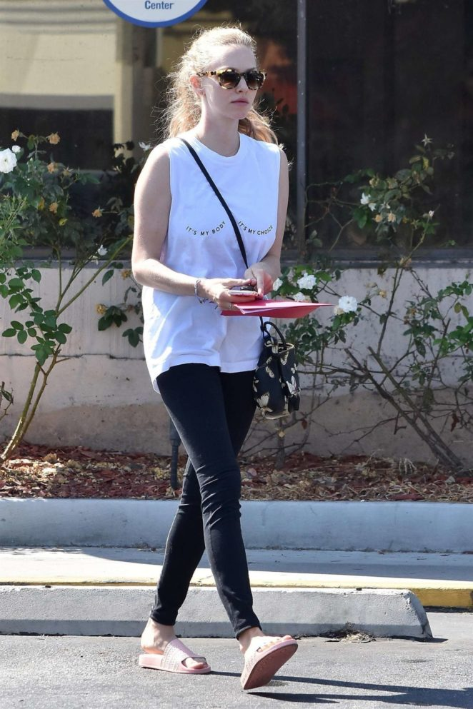 Amanda Seyfried Out in West Hollywood