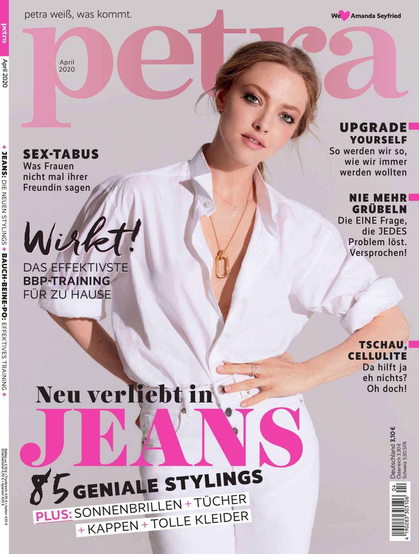 Amanda Seyfried - Petra Magazine (April 2020 issue)