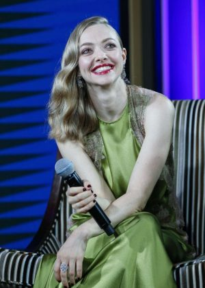 Amanda Seyfried - Promote 'Cle de Peau Beaute' in Shanghai