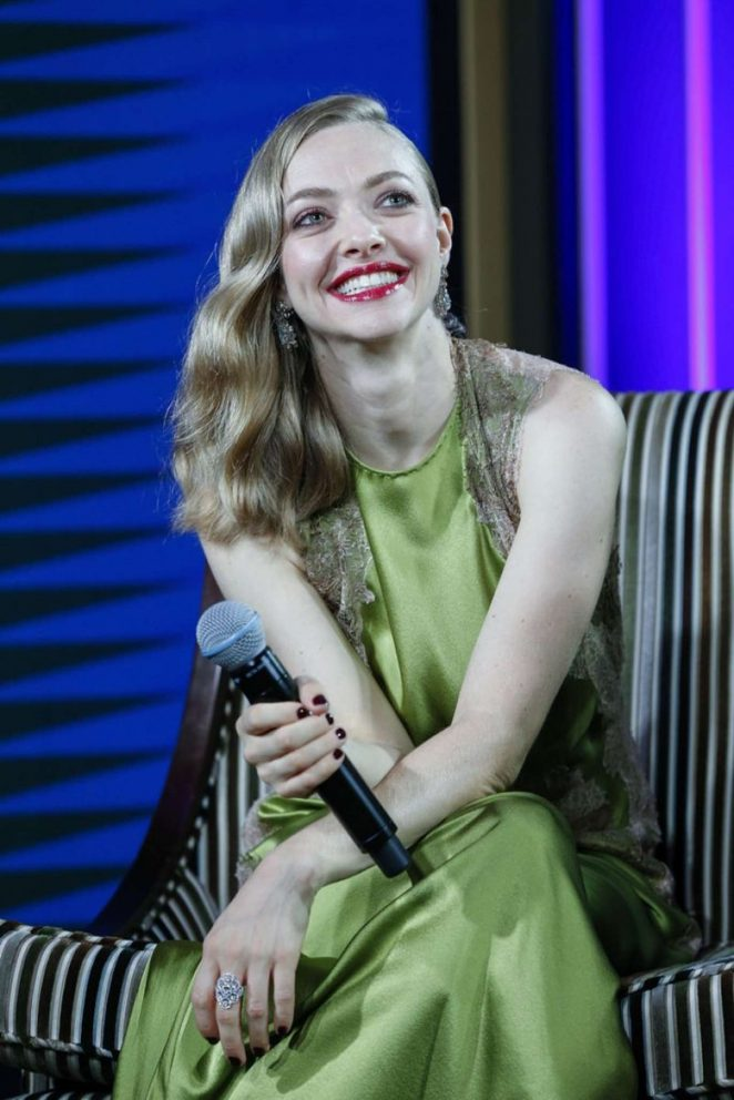 Amanda Seyfried – Promote 'Cle de Peau Beaute' in Shanghai