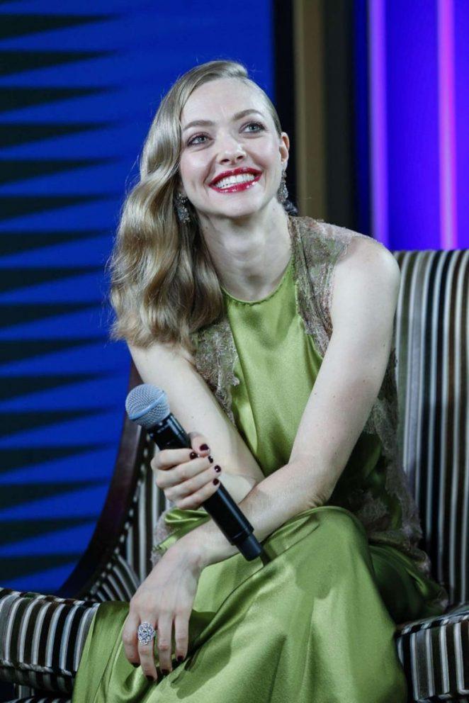 Amanda Seyfried - Promote 'Cle de Peau Beaute' in Shanghai
