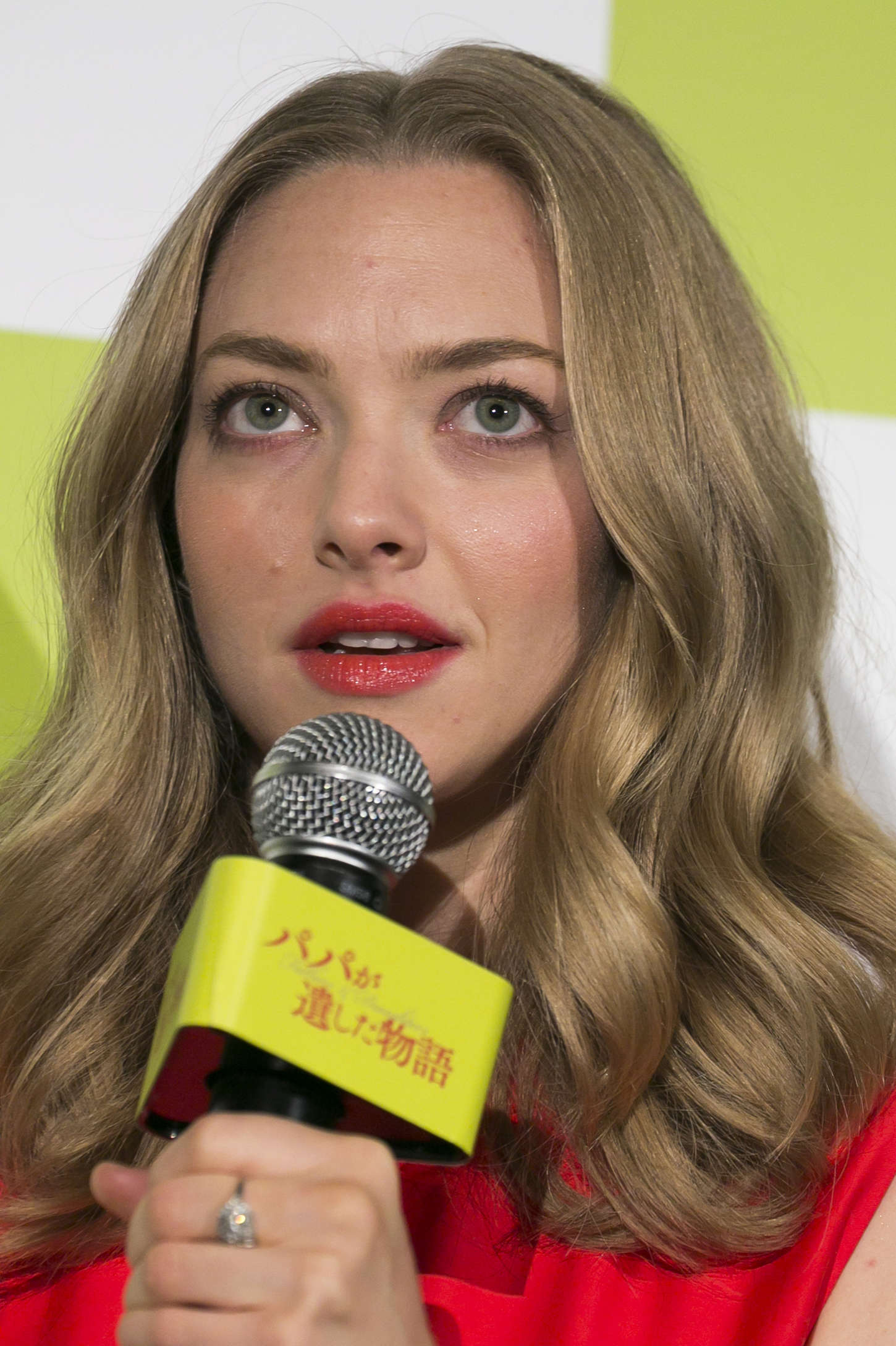Amanda Seyfried 2015 : Amanda Seyfried: Promotional Event For Fathers and Daughters -13