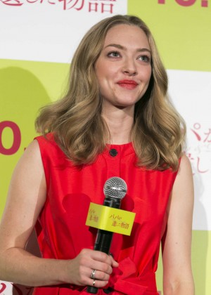 Amanda Seyfried - Promotional Event For Fathers and Daughters in Tokyo