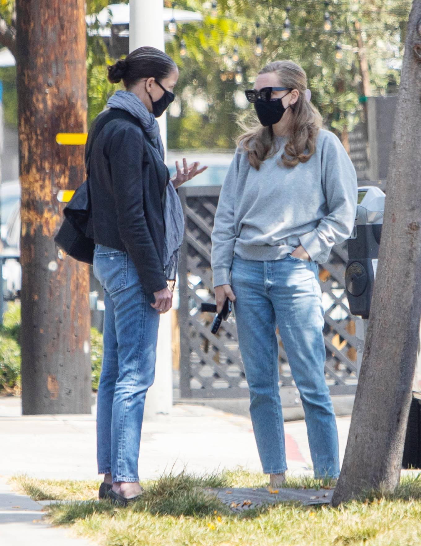 Amanda Seyfried - Seen at Gracias Madre Restaurant in West Hollywood