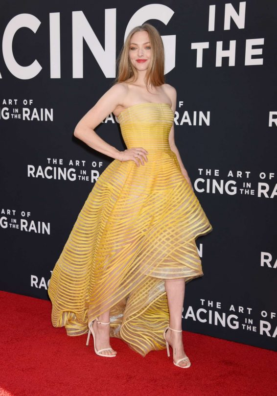 Amanda Seyfried - 'The Art Of Racing in The Rain' Premiere in Los Angeles