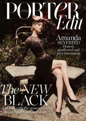 Amanda Seyfried - The Edit by Net-A-Porter (July 2018)