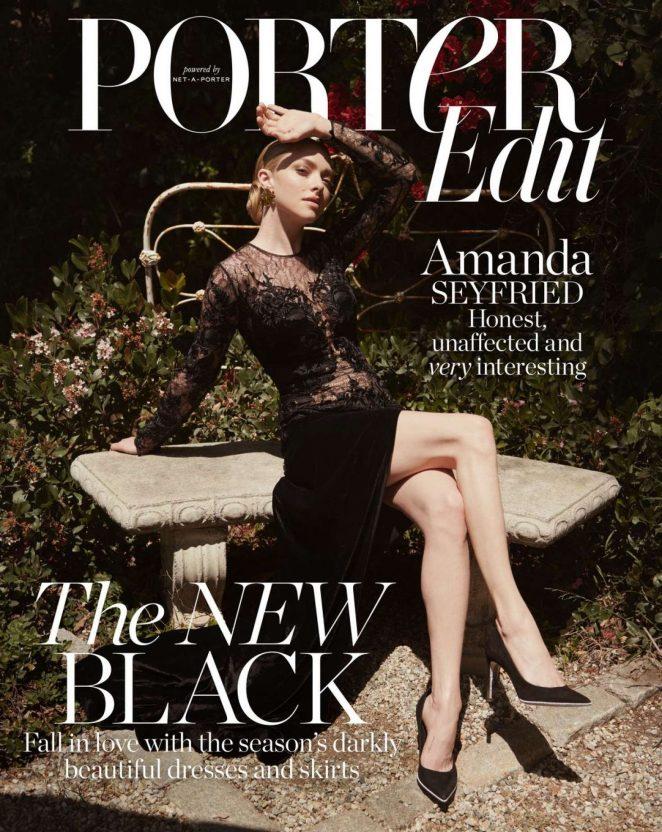 Amanda Seyfried – The Edit by Net-A-Porter (July 2018)