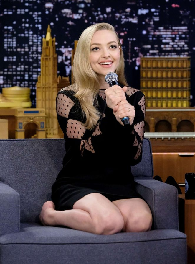 Amanda Seyfried - 'The Tonight Show Starring Jimmy Fallon' in NYC
