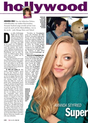 Amanda Seyfried: TV Media Magazine 2015 -03