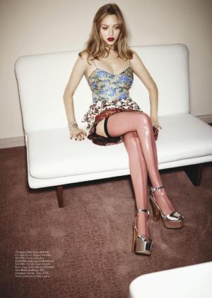 Amanda Seyfried - Vogue Australia Magazine (February 2017)