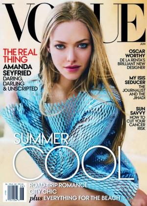 Amanda Seyfried - Vogue US Magazine Cover (June 2015)