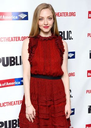 Amanda Seyfried - 'White Noise' Opening Night in NYC