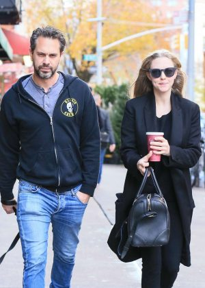 Amanda Seyfried With Boyfriend out in New York