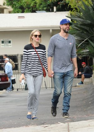 Amanda Seyfried with boyfriend Thomas Sadoski Out in Los Angeles