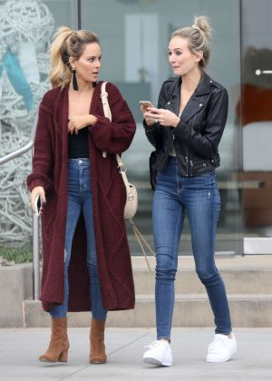 Amanda Stanton and Lauren Bushnell out in Los Angeles