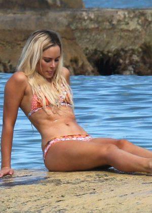 Amanda Stanton - Bikini Candids in Cancun