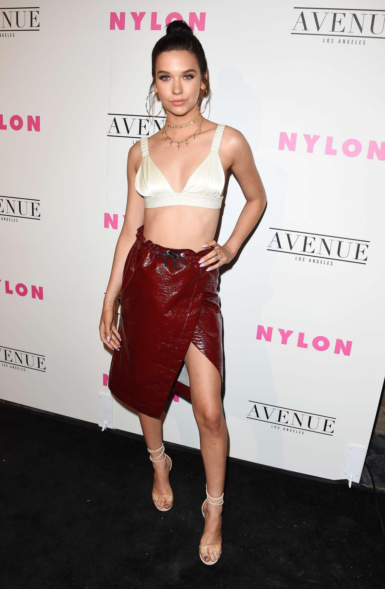 Amanda Steele 2017 : Amanda Steele: Nylon Young Hollywood May Issue Event -02