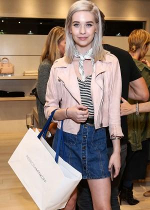 Amanda Steele - Rebecca Minkoff Flagship Store Opening in LA