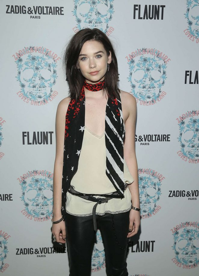 Amanda Steele - Zadig and Voltaire And Flaunt Celebrate 2016 Collection in LA