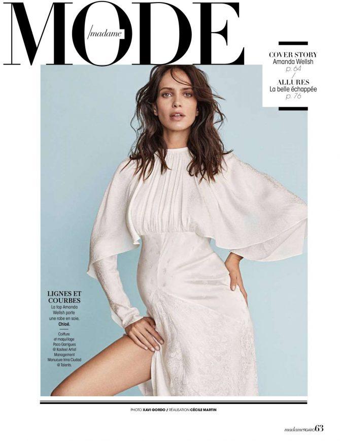 Amanda Wellsh - Madame Figaro 25 January 2019