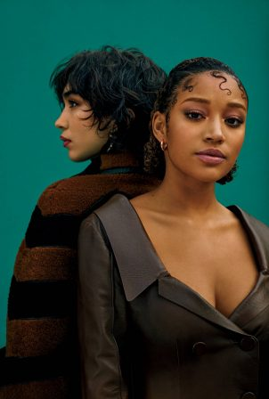 Amandla Stenberg and Rowan Blanchard - New York Times Style Magazine (April 2021)