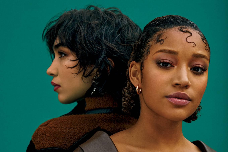 Amandla Stenberg 2021 : Amandla Stenberg and Rowan Blanchard – New York Times Style Magazine (April 2021)-02