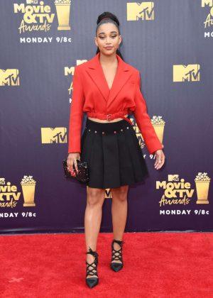 Amandla Stenberg - MTV Movie and TV Awards 2018 in Santa Monica