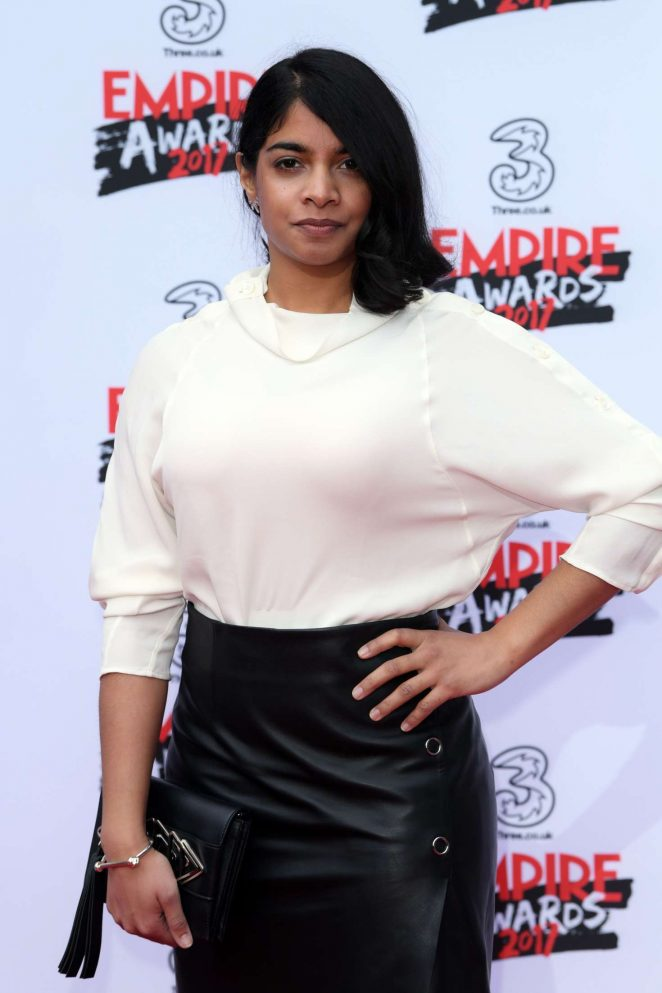Amara Karan - Three Empire Awards 2017 in London