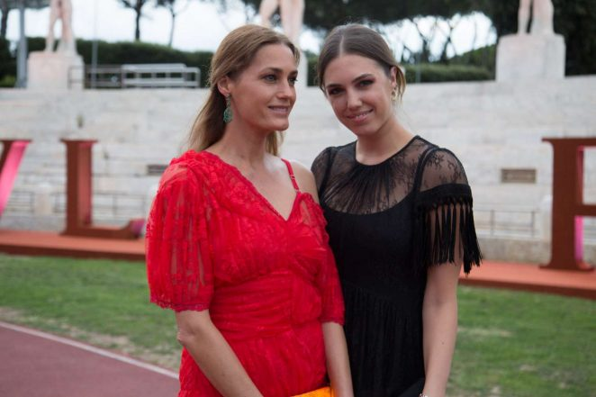 Amber and Yasmin Lebon - Bulgari Parade in Rome