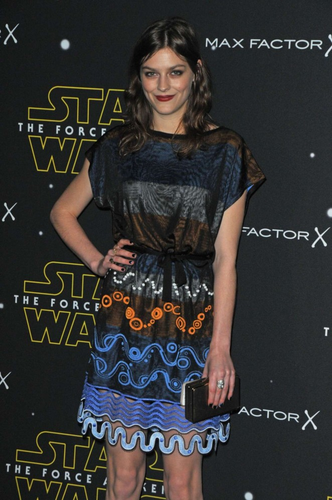 Amber Anderson - Fashion Finds The Force Event in London