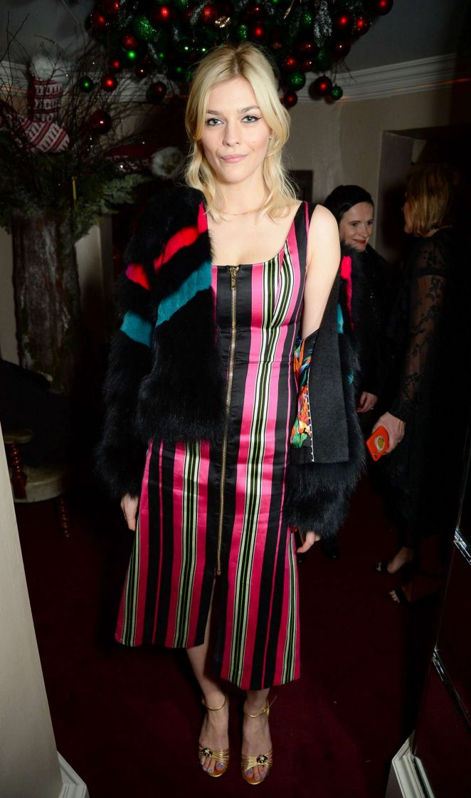 Amber Anderson - LOVE Magazine Christmas Party in London