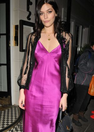 Amber Anderson - The Grey Goose x GQ Style Pre BAFTAs Dinner in London