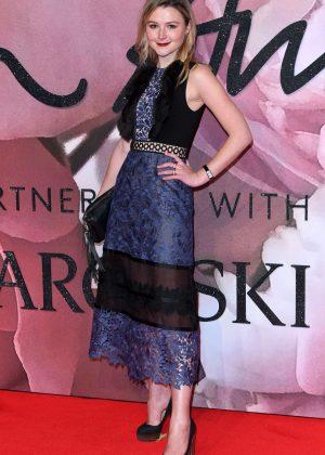 Amber Atherton - The Fashion Awards 2016 in London