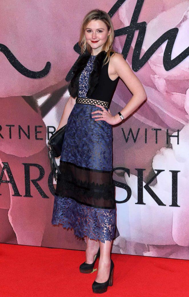 Amber Atherton – The Fashion Awards 2016 in London