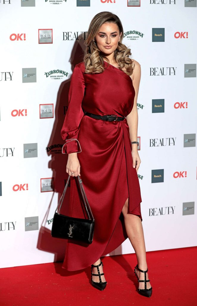 Amber Davies - 2018 Beauty Awards with OK! in London