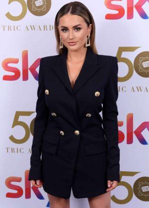 Amber Davies - 2019 TRIC Awards in London