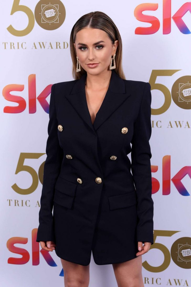 Amber Davies - 2019 TRIC Awards in London